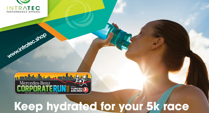 Keep hydrated during summer for your 5k race
